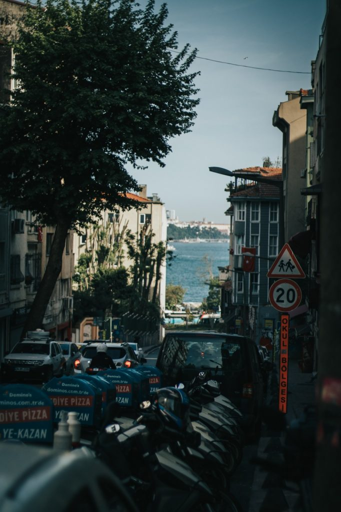 The Istanbul streets