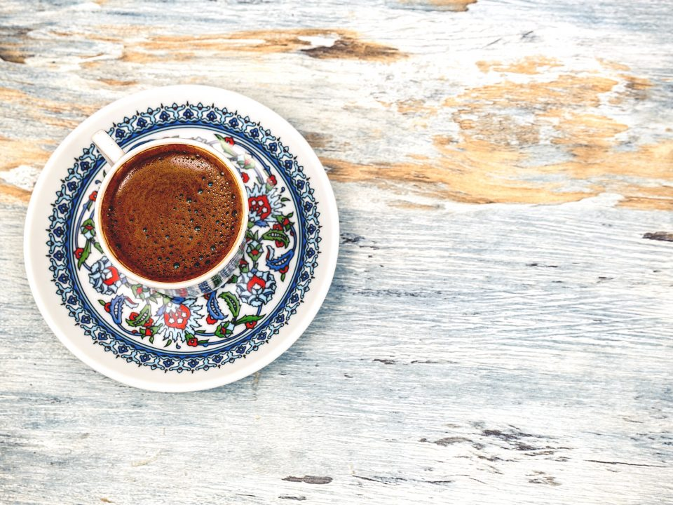The perfectly-brewed cup of Turkish coffee