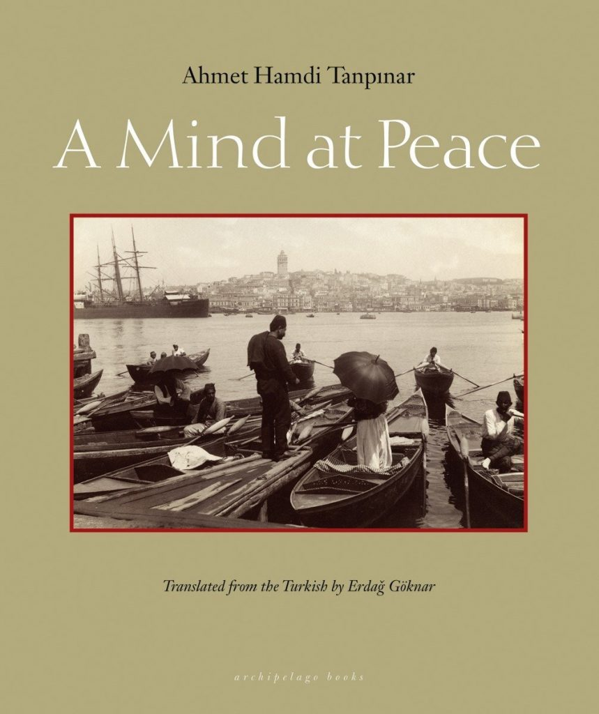 Ahmet Hamdi Tanpinar a mind at peace book cover
