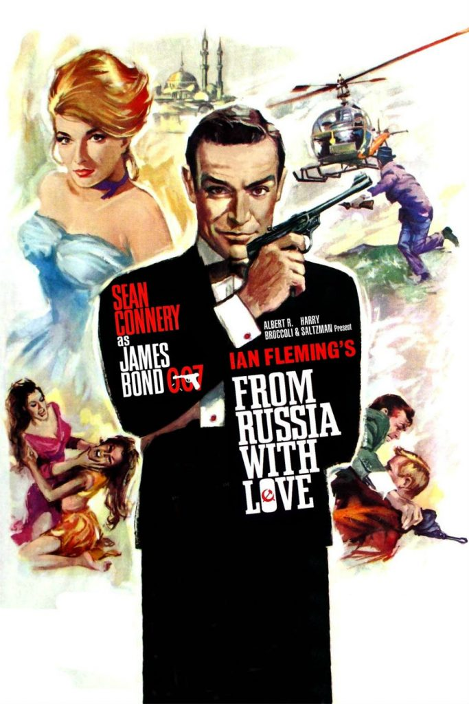 film movie poster from russia with love istanbul film tour turkey sean connery