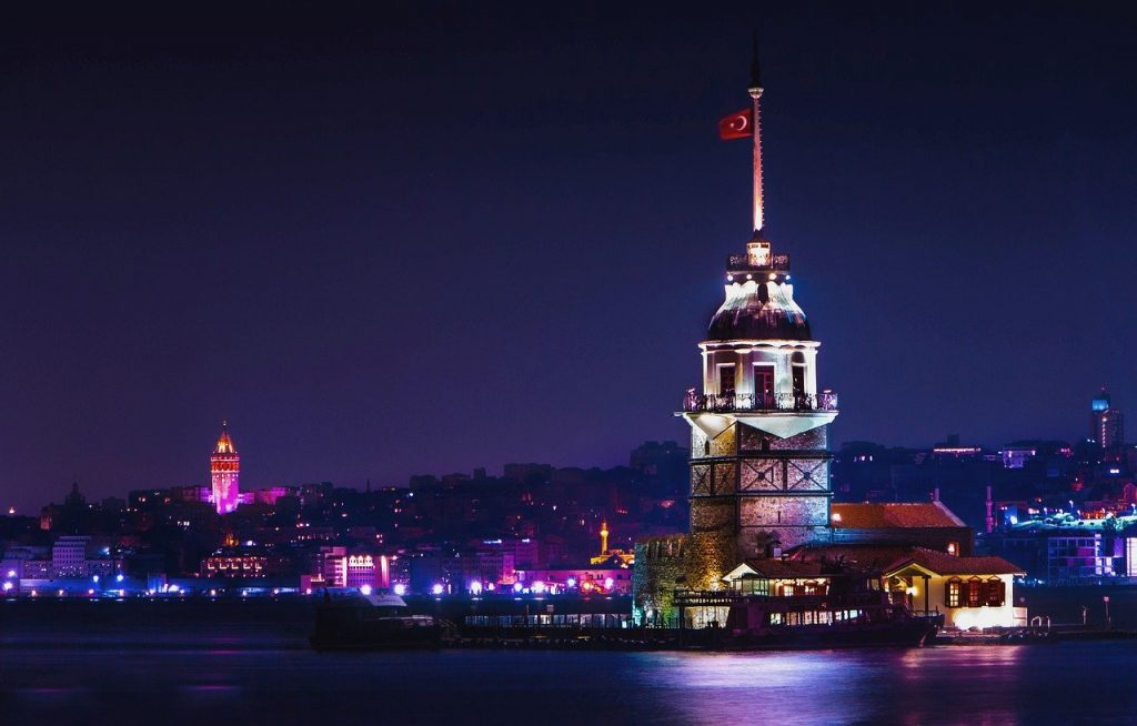 kiz kulesi maiden's tower istanbul turkey lighthouse fener travel tour