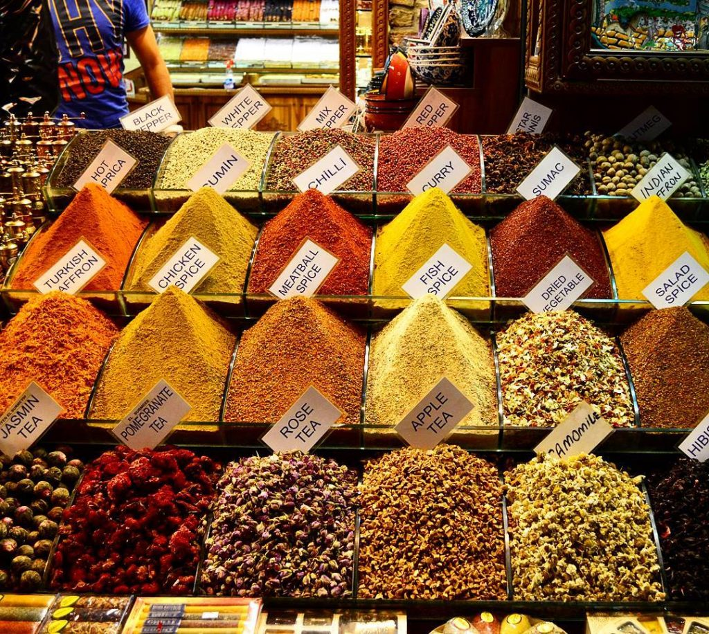 spice bazaar egyptian bazaar istanbul turkey travel tour